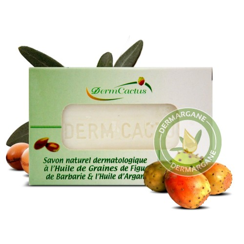 Savon Naturel Dermatologique Anti Taches Brunes Anti Rides Anti Cernes à lHuile de Graines de Figue de barbarie