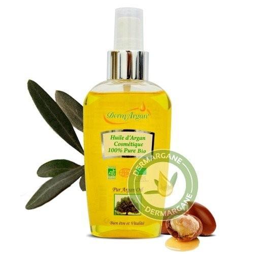 Huile d'Argan cosmétique pure 100% bio - 100 ml
